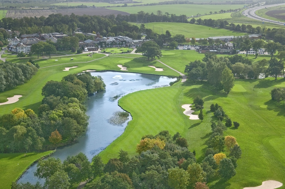Aerial View, The Belfry