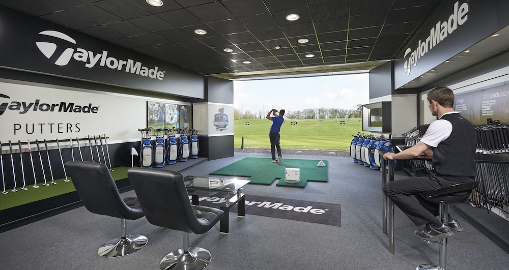 Indoor Golf Driving Range, The Belfry