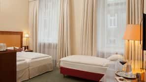 Lakens van Egyptisch katoen, luxe beddengoed, pillowtop-bedden