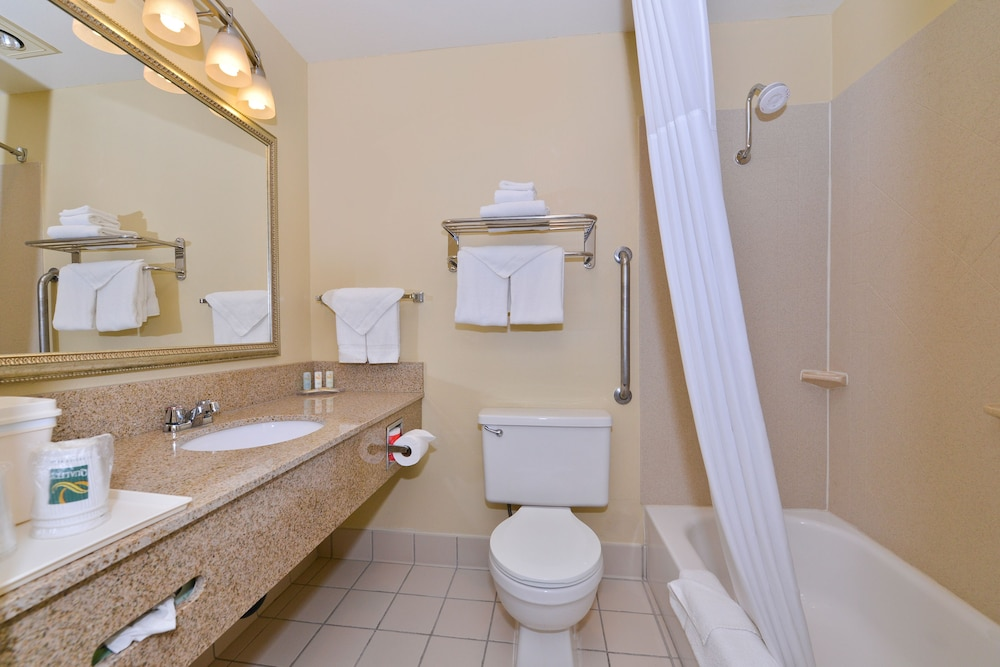 Bathroom, Quality Inn And Suites Vancouver