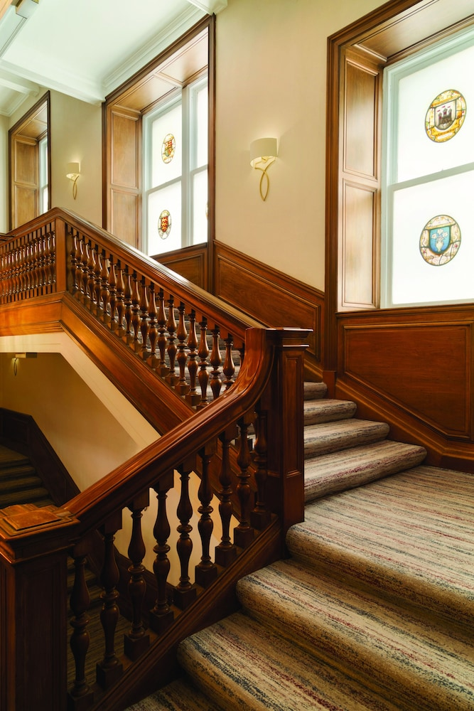 Staircase, Waldorf Astoria Edinburgh - The Caledonian