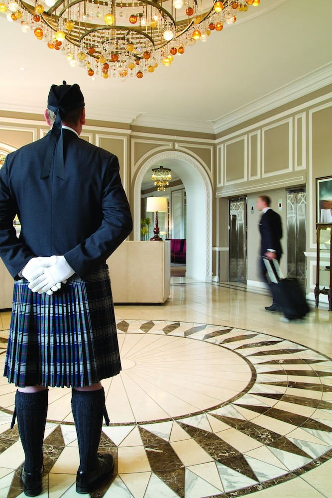 Lobby, Waldorf Astoria Edinburgh - The Caledonian