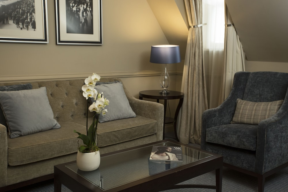 Living Area, Waldorf Astoria Edinburgh - The Caledonian