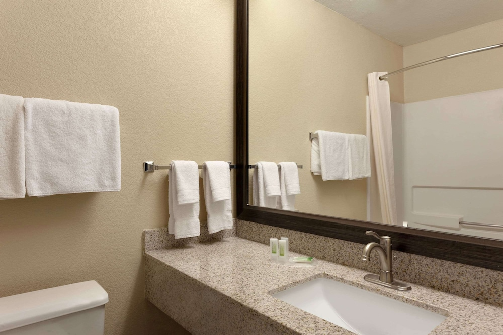 Bathroom, AmericInn by Wyndham Salina