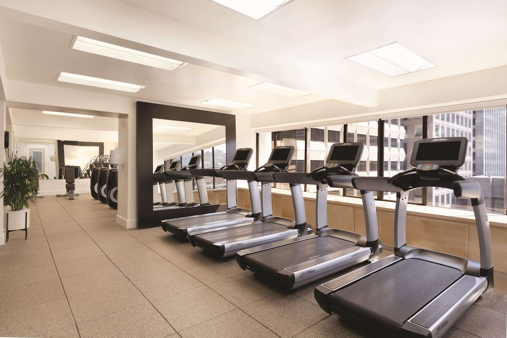 Fitness Facility, Hilton San Francisco Financial District