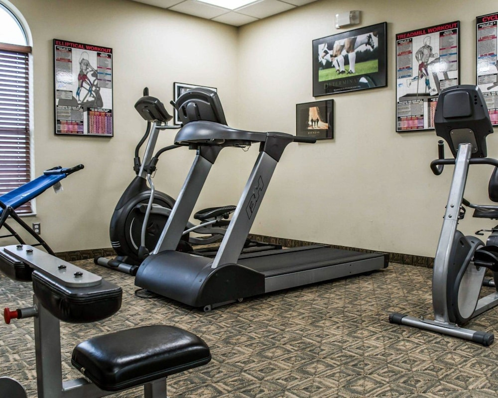 Fitness Facility, Quality Inn Airport - Cruise Port
