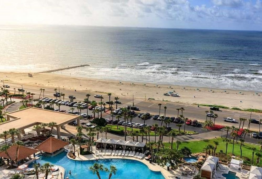 View from Room, Hilton Galveston Island Resort