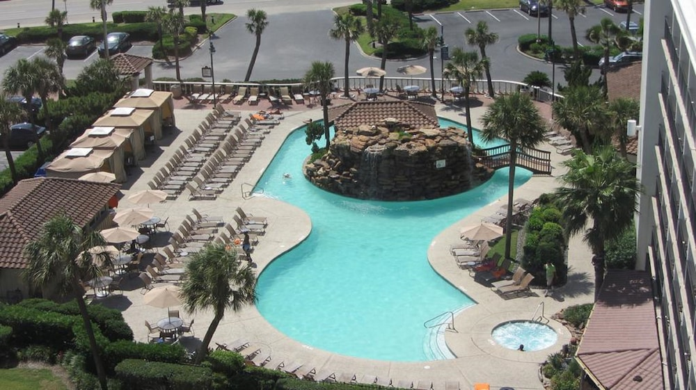 Pool, Hilton Galveston Island Resort