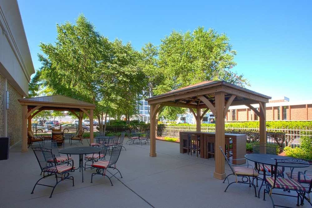 BBQ/Picnic Area, Holiday Inn Sioux Falls-City Centre