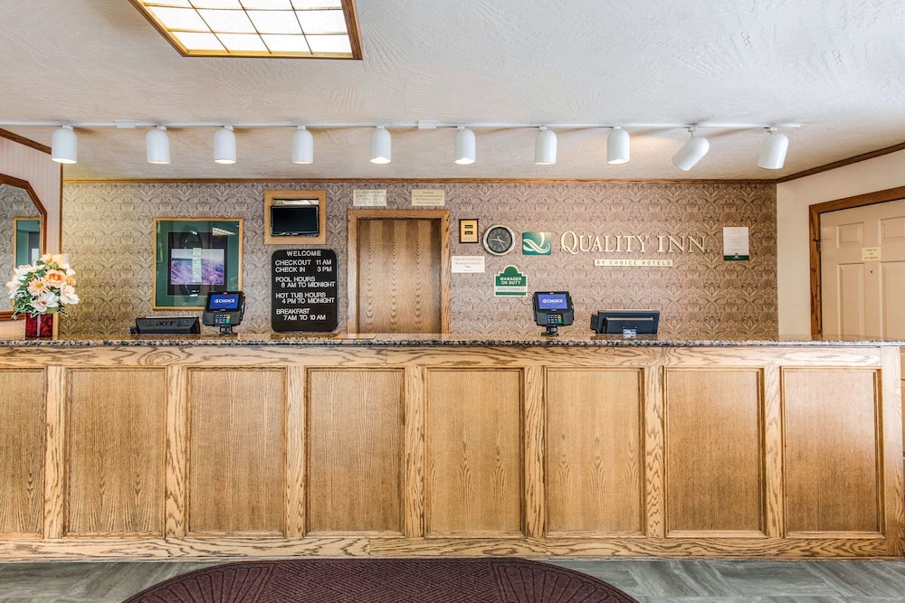 Lobby, Quality Inn Cedar City - University Area