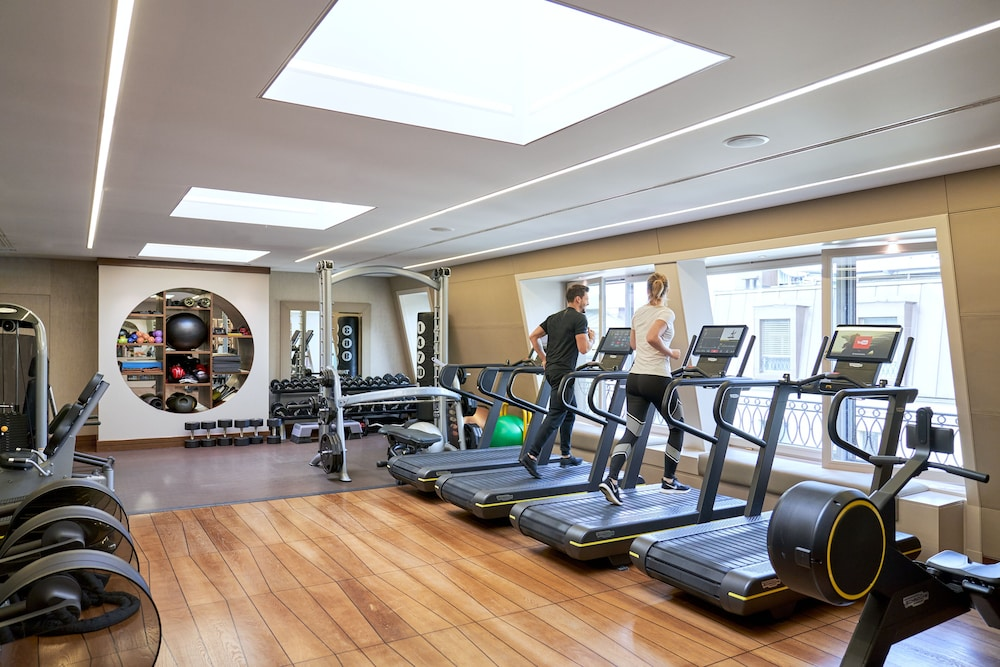 Gym, Four Seasons Hotel des Bergues Geneva