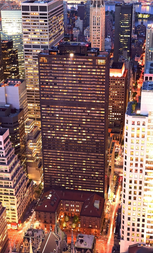 Aerial View, Lotte New York Palace