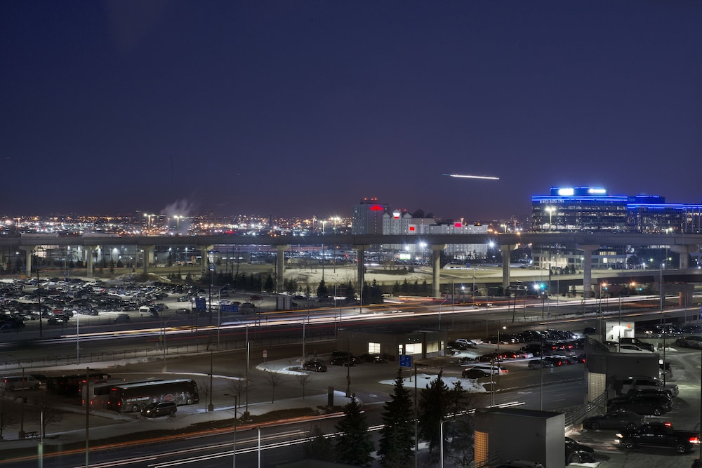 View from Room, Sheraton Gateway Hotel In Toronto International Airport