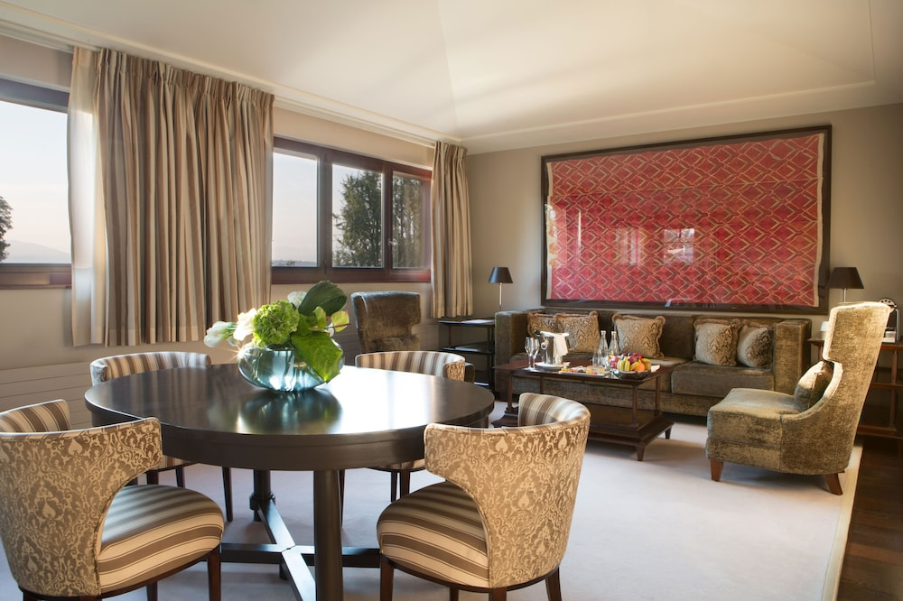 Living Room, La Reserve Geneve Hotel and Spa