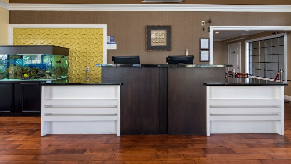 Reception, Best Western Palm Garden Inn