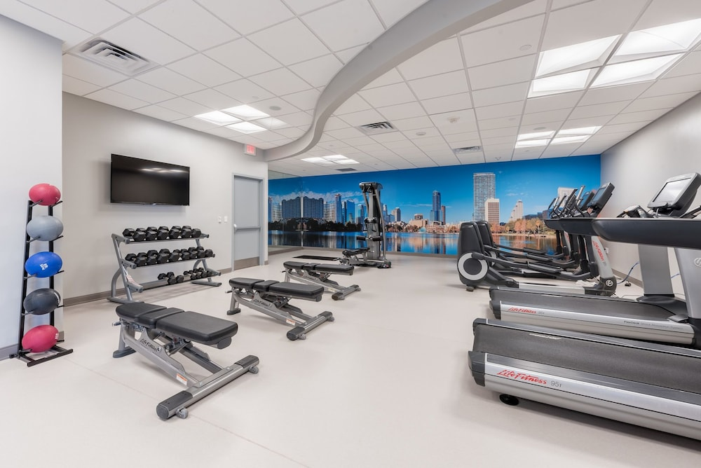 Fitness Facility, Marriott Orlando Downtown