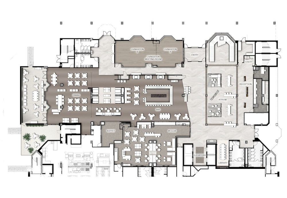 Floor plan, Marriott Orlando Downtown