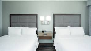 Premium bedding, in-room safe, blackout curtains, iron/ironing board