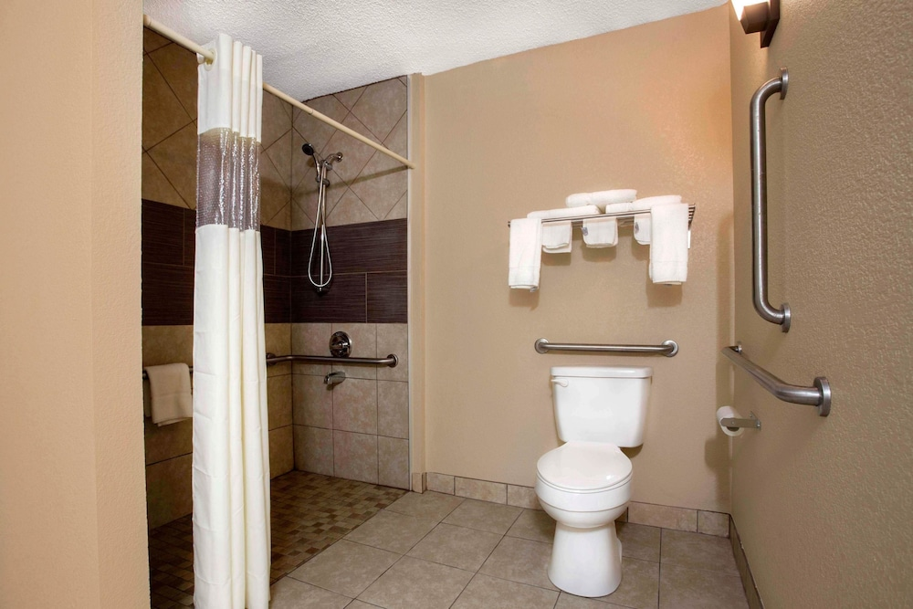 Bathroom, Quality Inn & Suites University Area