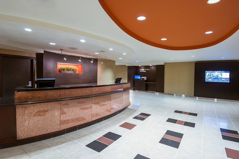 Lobby, Courtyard by Marriott Boston Marlborough