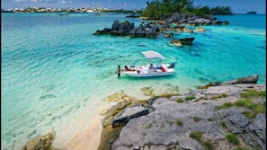 Private beach, beach towels, snorkeling, sailing