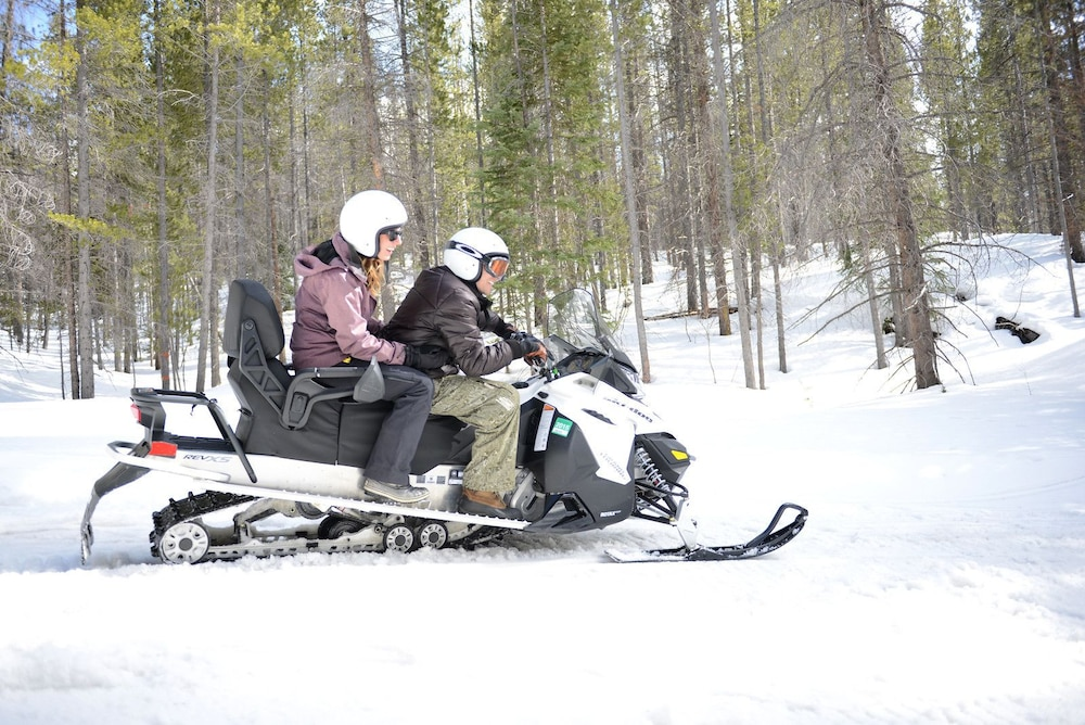 Snowmobiling, Winter Park Mountain Lodge