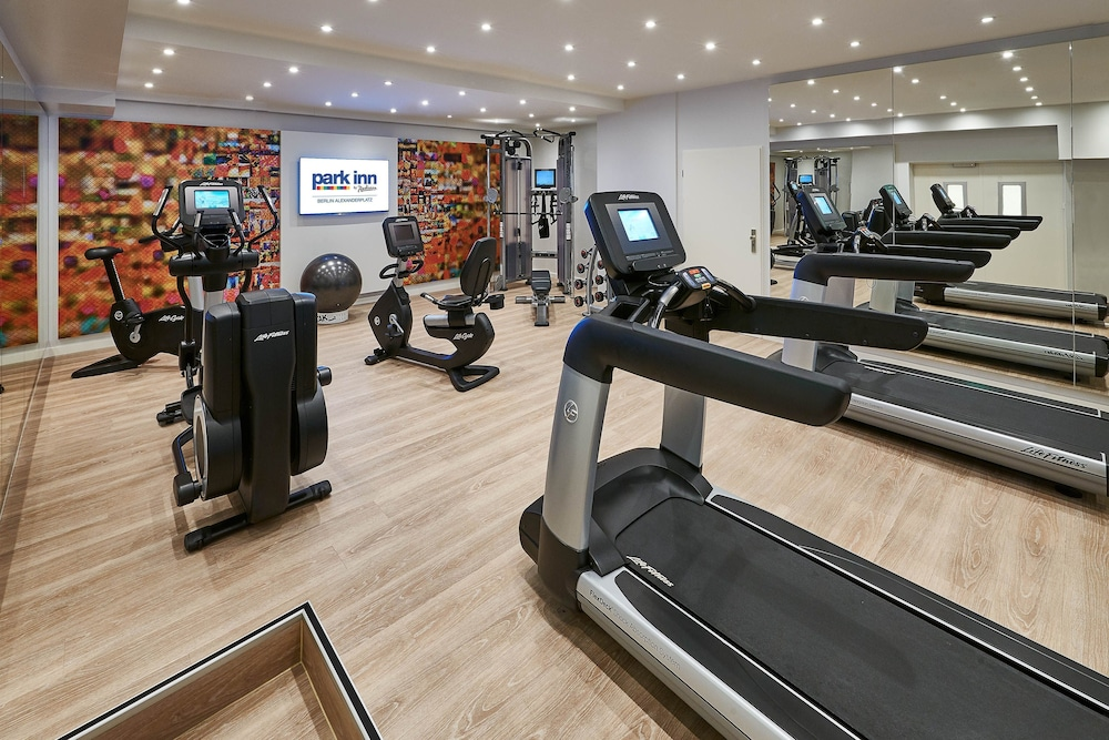 Gym, Park Inn by Radisson Berlin Alexanderplatz