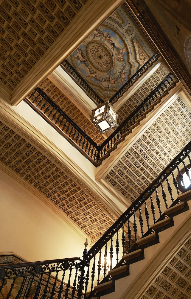 Staircase, Hotel Alfonso XIII, a Luxury Collection Hotel, Seville