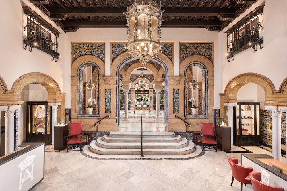 Lobby, Hotel Alfonso XIII, a Luxury Collection Hotel, Seville