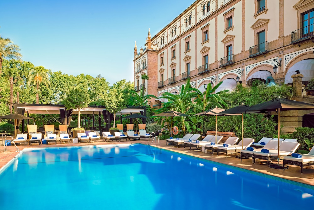 Pool, Hotel Alfonso XIII, a Luxury Collection Hotel, Seville