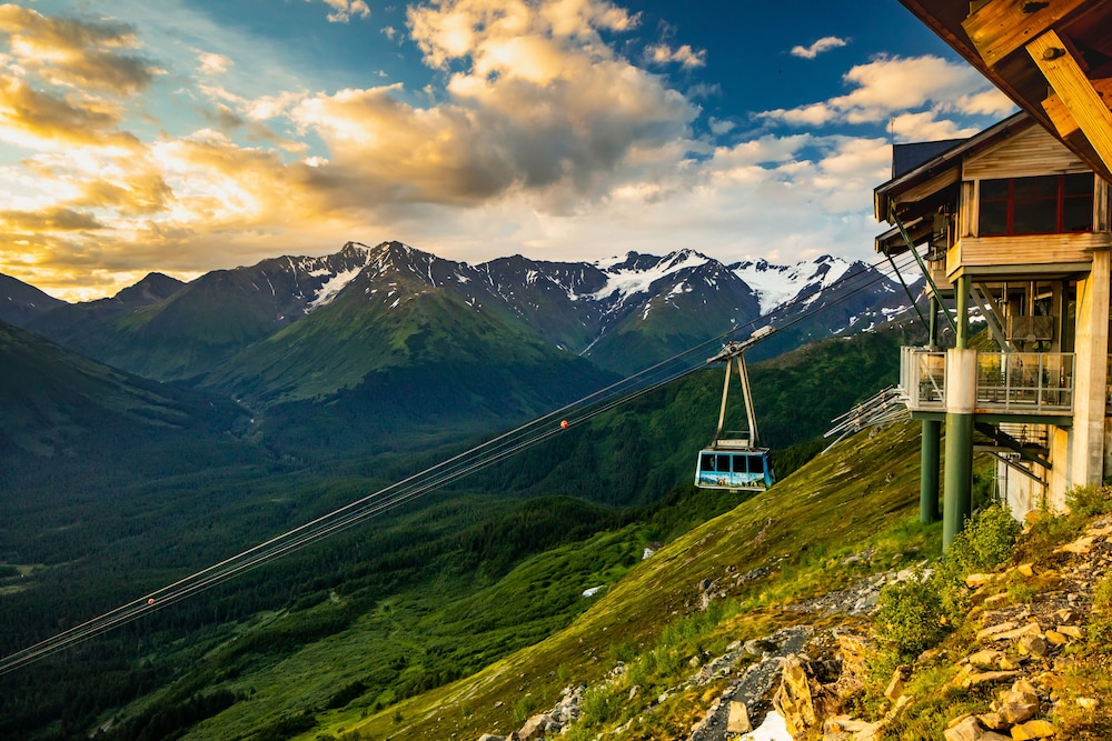 Aerial View, Alyeska Resort