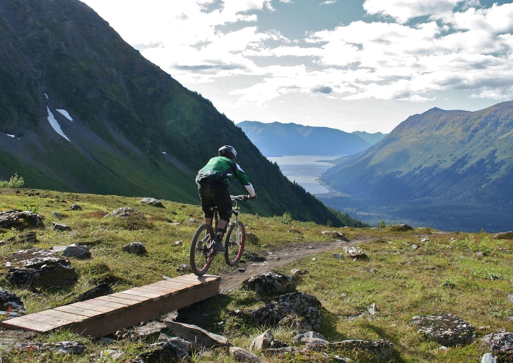 Bicycling, Alyeska Resort