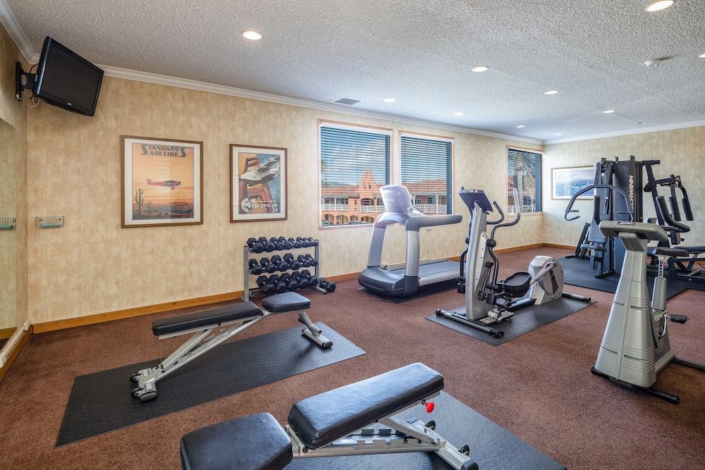 Fitness Facility, SFO Airport Hotel, El Rancho Inn BW Signature Collection
