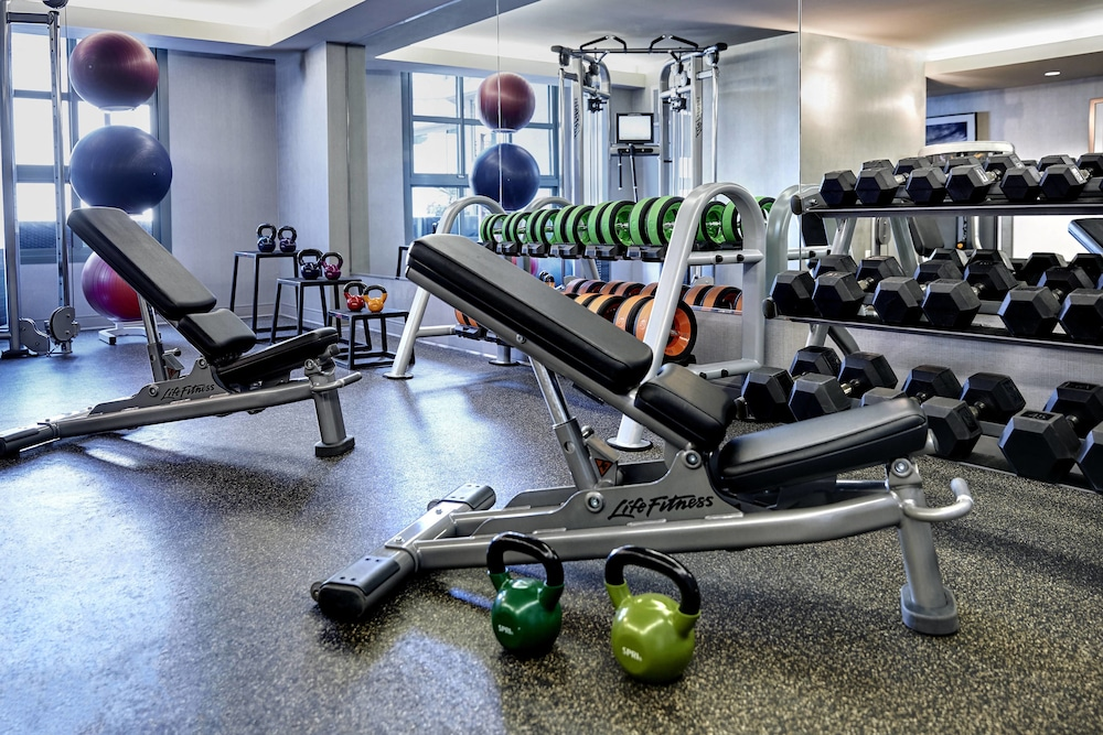 Fitness Facility, Renaissance Los Angeles Airport Hotel
