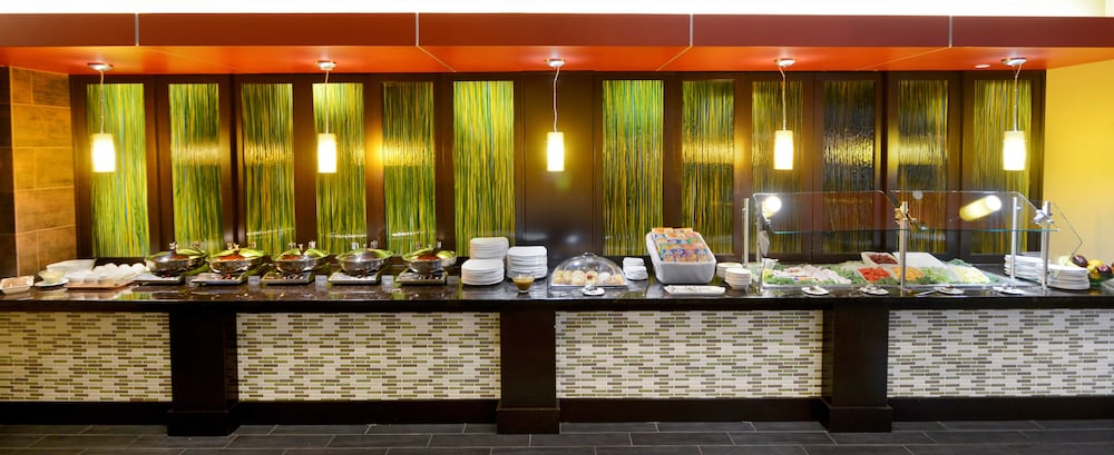 Breakfast buffet, The Beeman Hotel