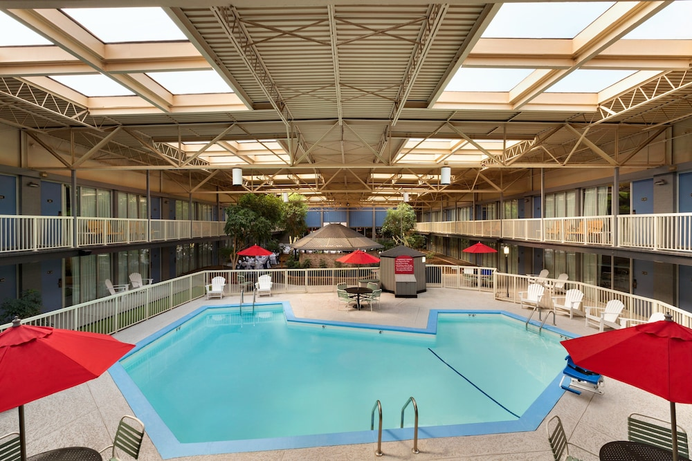 Indoor Pool, Ramada by Wyndham Clarion