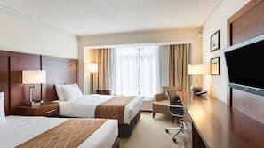 Luxe beddengoed, donzen dekbedden, pillowtop-bedden