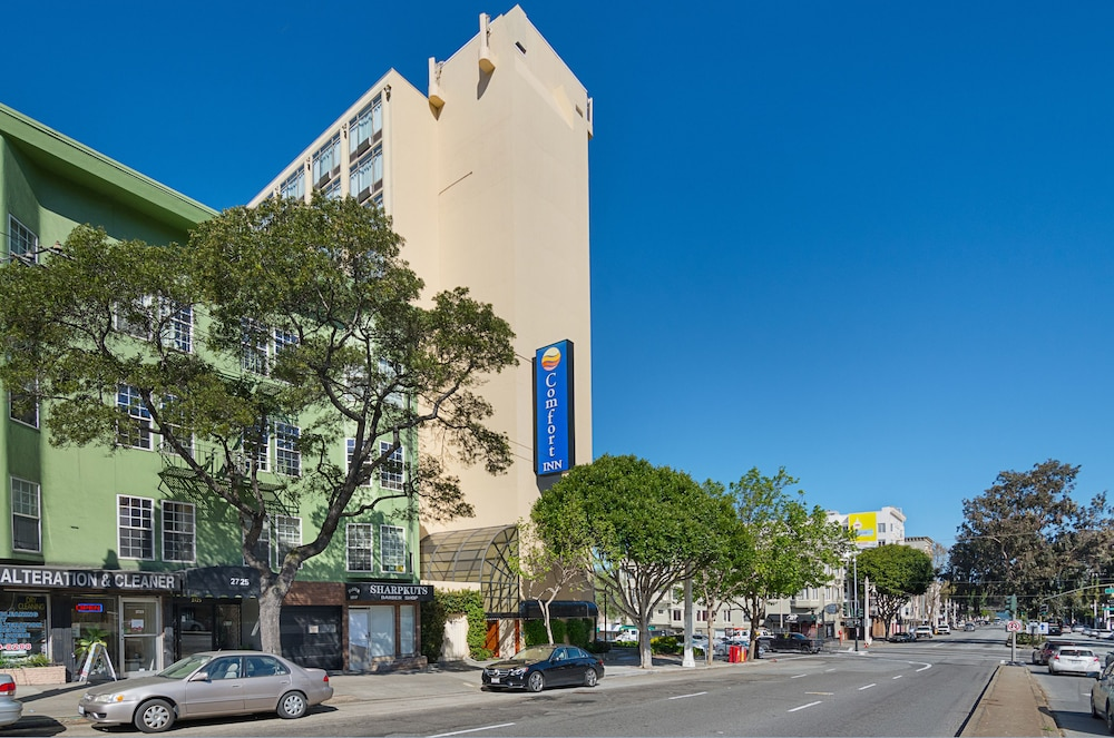 comfort inn by the bay in san francisco hotel rates. Black Bedroom Furniture Sets. Home Design Ideas