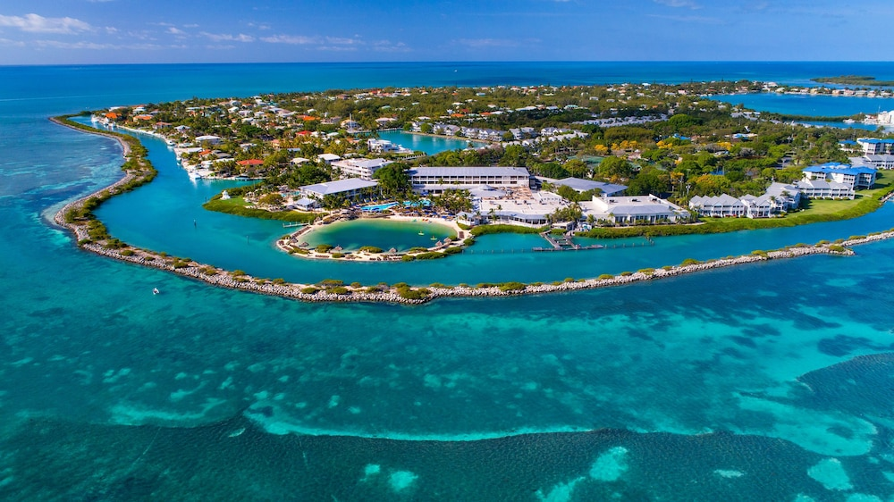 Aerial View, Hawks Cay Resort