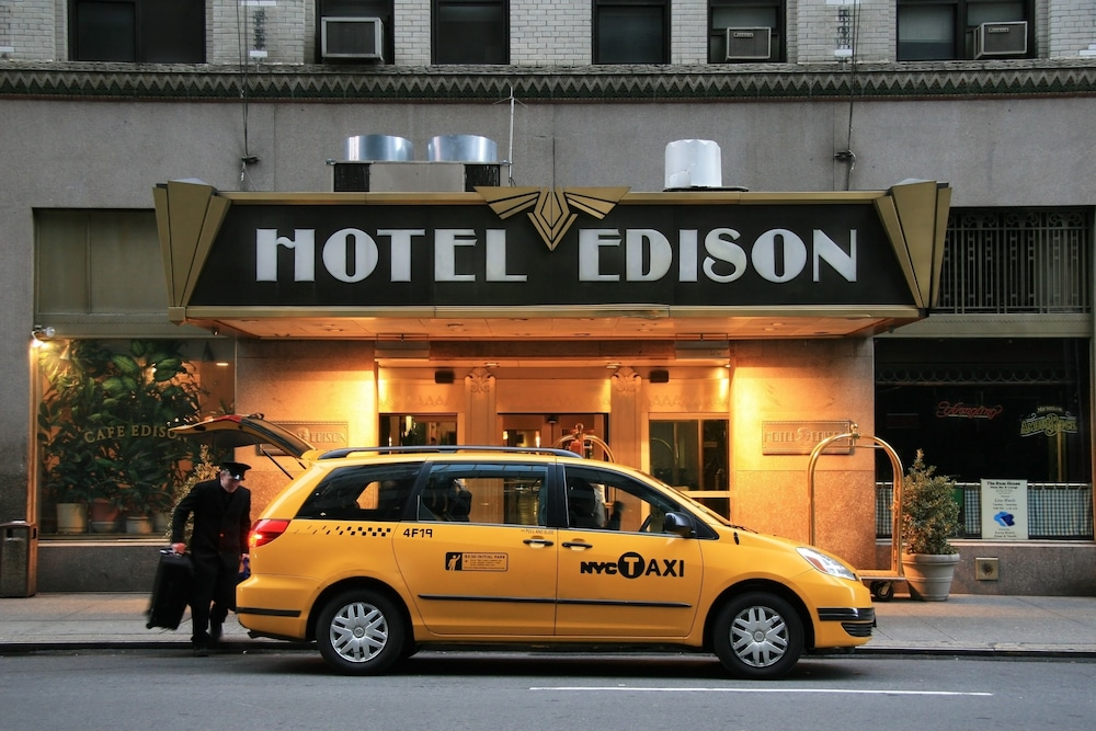 hotel edison new york tats unis d 39 am rique. Black Bedroom Furniture Sets. Home Design Ideas