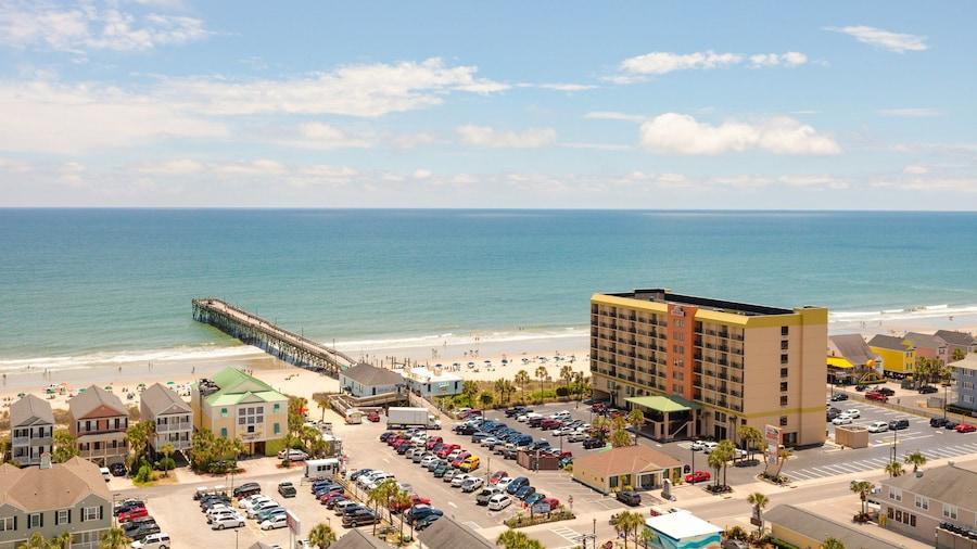 冲浪海滩海滨酒店
