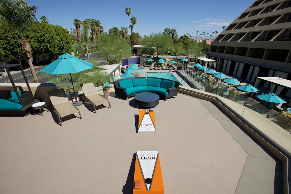 Sundeck, Hyatt Palm Springs