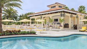 Indoor pool, 3 outdoor pools, cabanas (surcharge), pool umbrellas