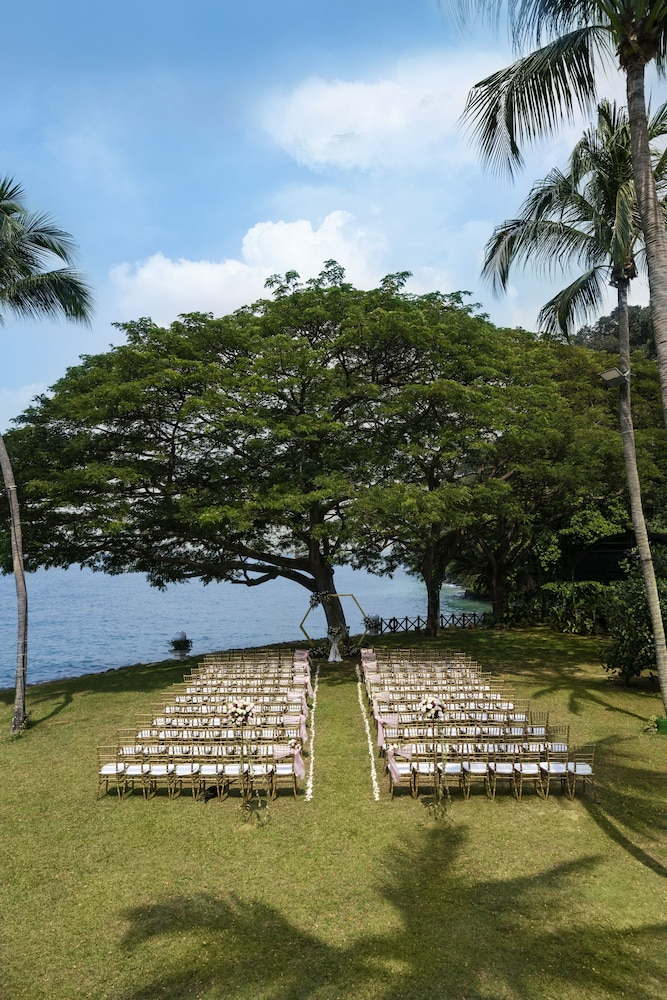 Outdoor Wedding Area, Shangri-La Rasa Sentosa, Singapore (SG Clean)