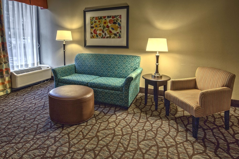Living Area, Hampton Inn Asheville-Tunnel Rd.