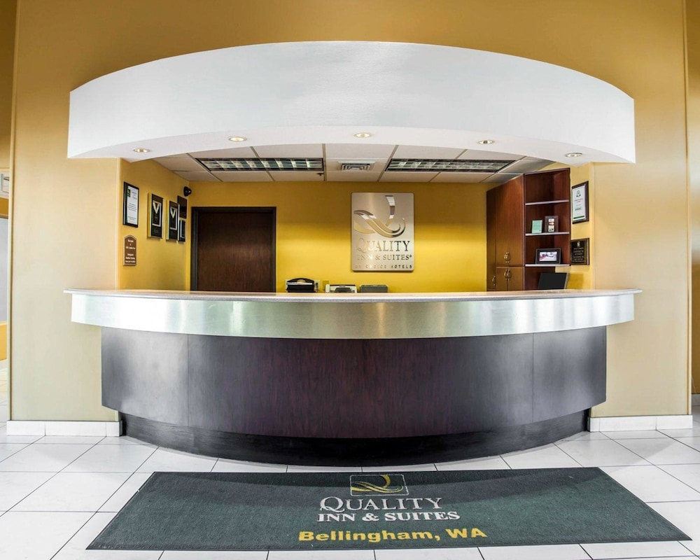 Lobby, Quality Inn Grand Suites Bellingham