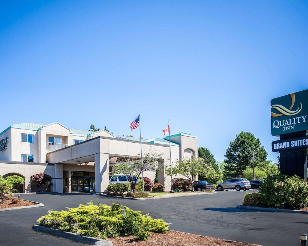 Exterior, Quality Inn Grand Suites Bellingham