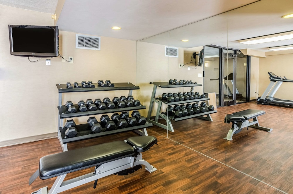 Fitness Facility, Comfort Inn Blacksburg University Area