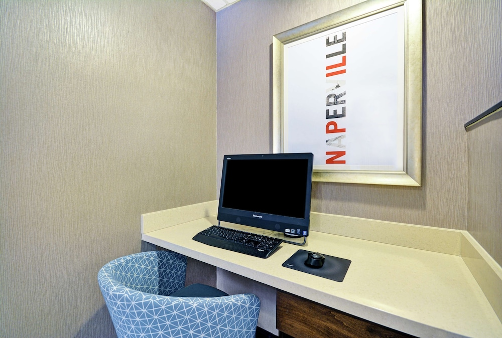 Business Center, Hampton Inn Chicago/Naperville