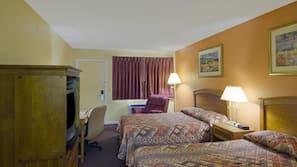 Rollaway beds, free WiFi, alarm clocks